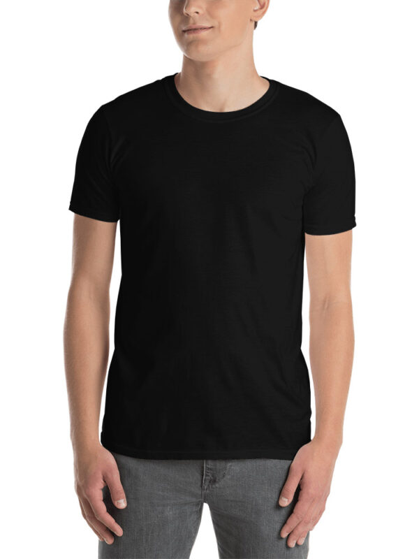 Custom Unisex Basic T-Shirt Gildan 64000 | Black