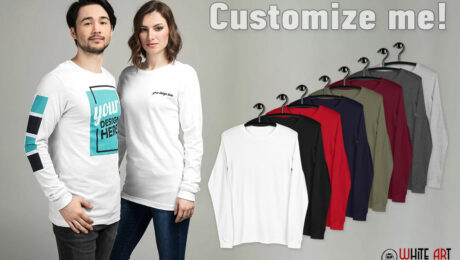 Customize me! Long Sleeve Tee Bella+Canvas 3501