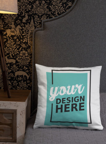 Custom All-Over Print Basic Pillow | 18x18 inch