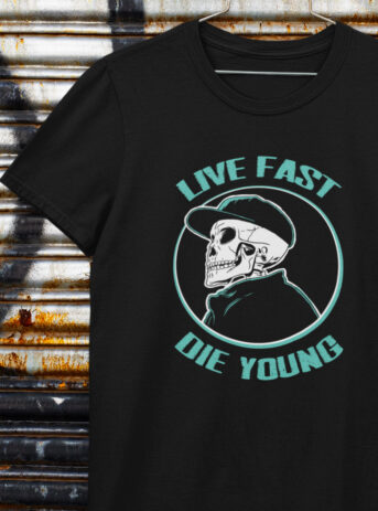 Live Fast Die Young | Basic Unisex T-Shirt
