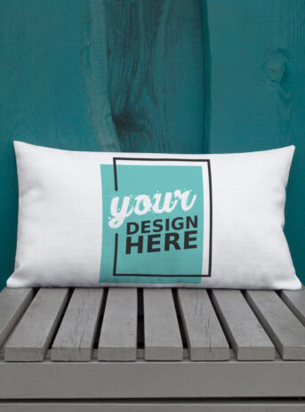 Custom All-Over Print Premium Pillow | 20x12 inch