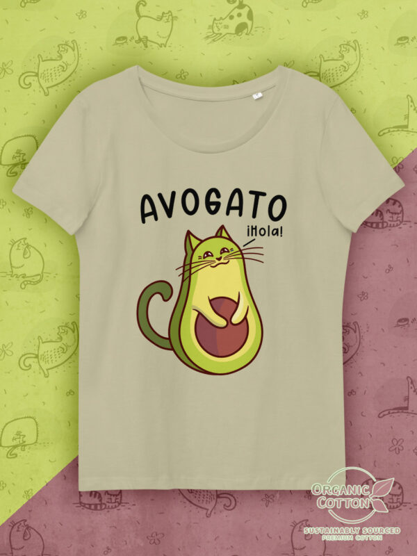 Avocato | Women's Fitted Eco Tee