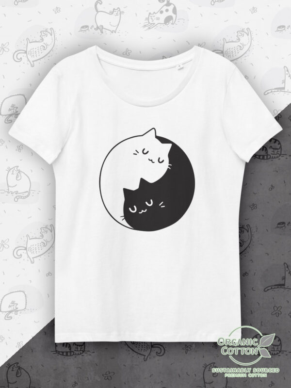 Yin and Yang | Women's Fitted Eco Tee